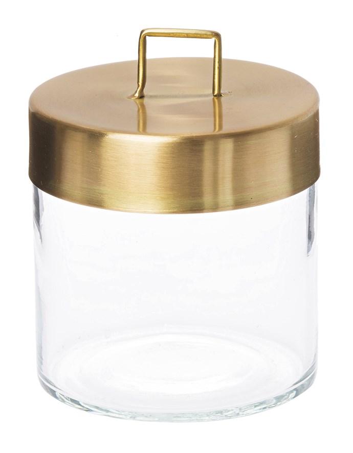 6\. Small glass jar, $34, from [Zakkia](http://www.zakkia.com.au/).