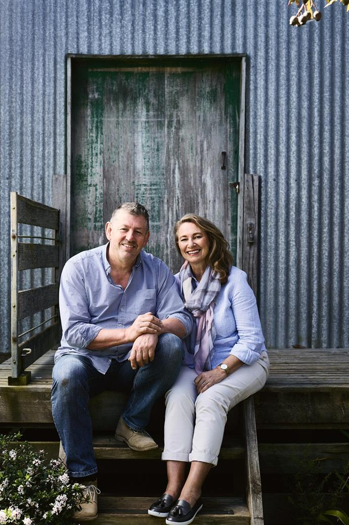 """I work part-time in the city about an hour away, yet we live off the land here,"" says Kerry, a communications advisor within the Victorian Government. Her husband Dave completed most of their home's two-year physical build himself, contracting [specialist tradesmen](https://www.homestolove.com.au/who-is-involved-in-building-a-house-3078