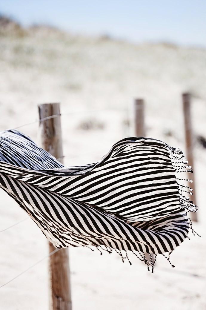 KR linen wrap, $89, from [Kara Rosenlund](http://www.kararosenlund.com/). | Photo: Lisa Cohen