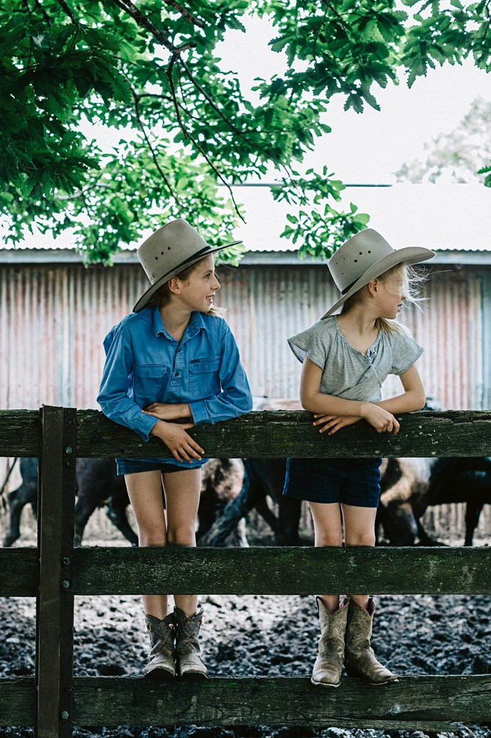 While Megan and Dave would have loved to still be living on their old pastoral property, Mount Koroite offers security and the best opportunities for their children.  | Photo: Marnie Hawson