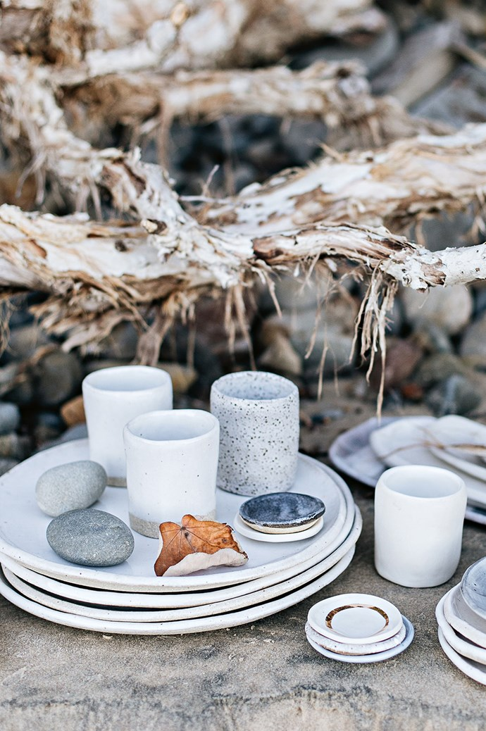 The ceramicist attributes her affinity with nature to her parents, who often took her for walks through national parks as a child.