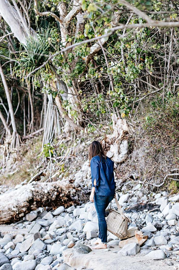 "Anna collects weathered stones and driftwood, polished by the ocean, at Little Cove. Nature, ultimately, is a force that grounds her artistic life. For further information on Married To The Sea, visit their website [here](http://www.marriedtothesea.com.au/home-1/|target=""_blank""