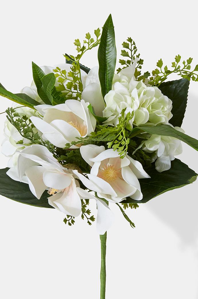3\. Magnolias. Magnolias have long been seen as a symbol of feminine beauty, so they're the perfect bouquet for the beauty in your life. In Victorian times, bouquets of magnolias were used as discreet ways for lovers to send messages to each other. Image courtesy of [Jamali Garden](https://www.jamaligarden.com/).