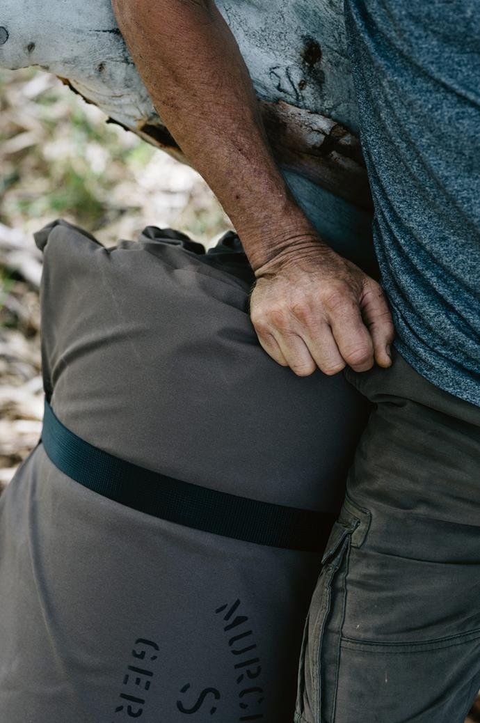 "Today, [Murchison River Swags](http://www.murchisonriverswags.com/|target=""_blank"") are sold Australia-wide and around the world. Gabrielle muses, ""We always say, 'If it was for me, what would I want?' John and I have always been on the same page."""