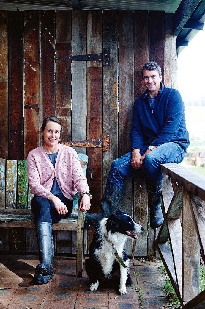 In December 1997, Jamie, once a journalist and furniture business owner, and Lara, a former economist and stockbroker, bought the farm to raise their young sons. The boys now help their parents grow fresh produce on the land.  | Photo: Mark Roper