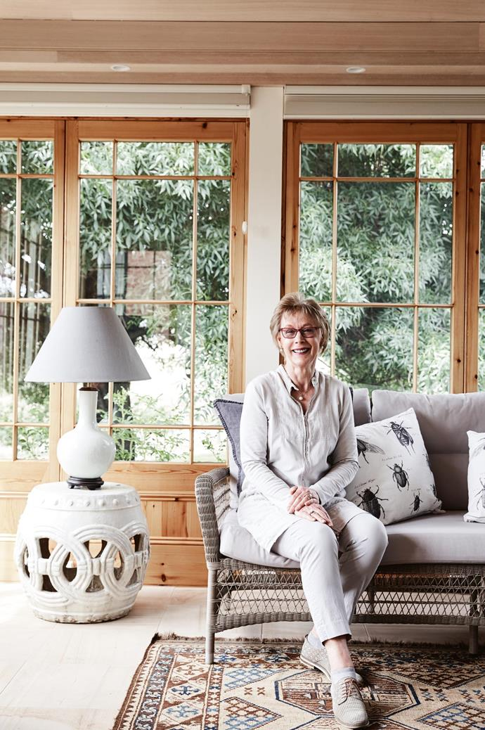 """Carol and her husband Rodney have been restoring the [heritage-listed property](https://www.homestolove.com.au/narmbool-an-inspiring-heritage-property-open-to-all-4033