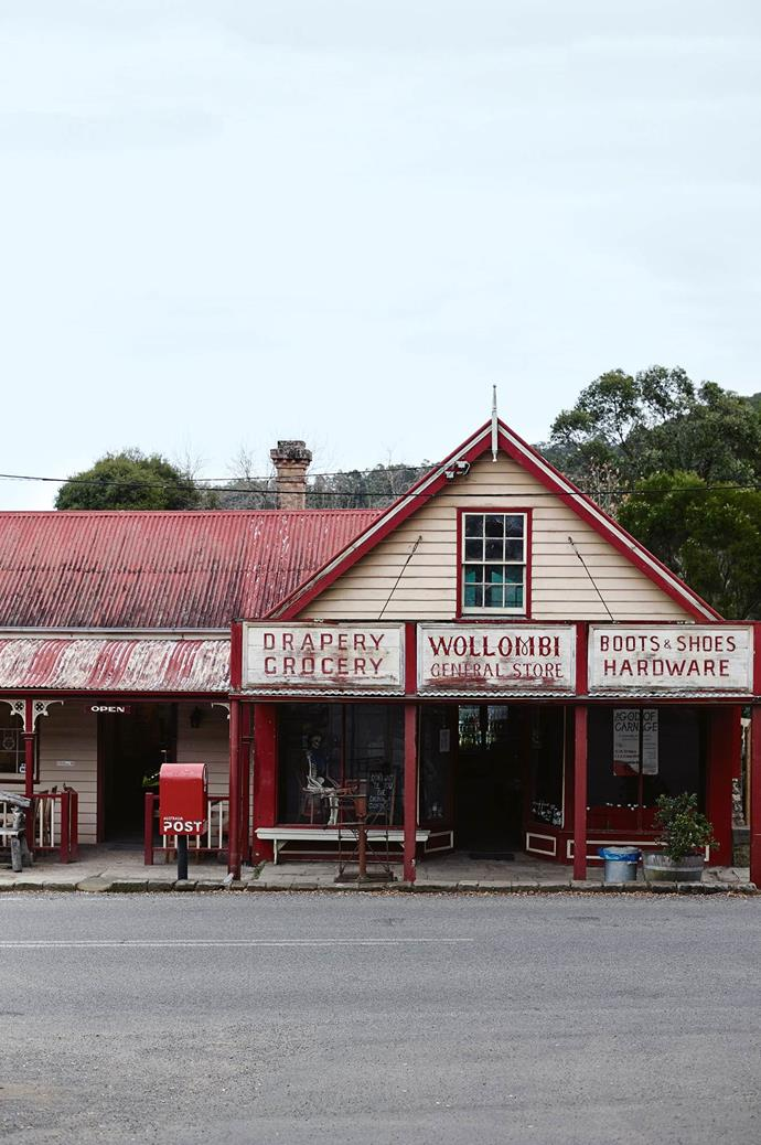 **Visit: Wollombi** The region can be reached via the historic town of Wollombi.