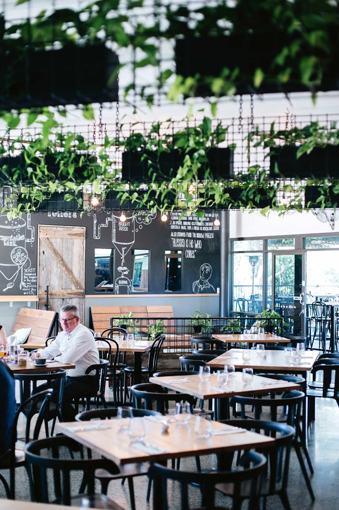 [Brouhaha Brewery](http://brouhahabrewery.com.au/menu/). Craft beers made in-house and a hearty menu of locally sourced food are big drawcards, along with a sleek interior fit-out and sprawling deck that caters to larger groups. | Photo: Abbie Melle
