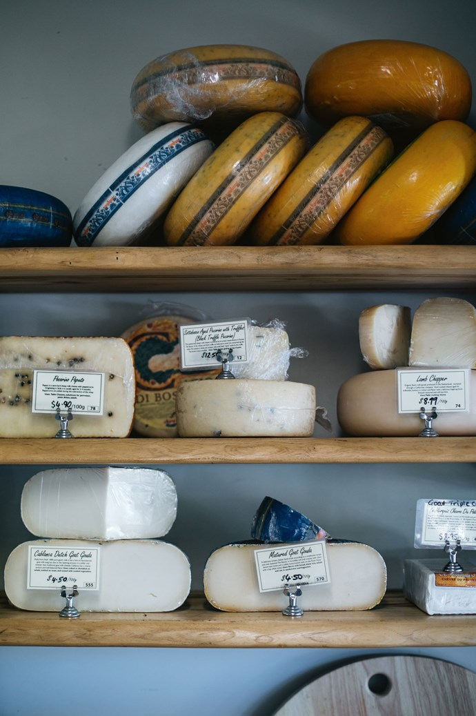 The space also has a fromagerie and a retail shop showcasing local gourmet produce.  | Photo: Abbie Melle