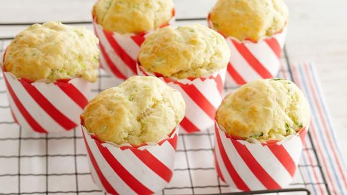 [**Zucchini, bacon and parmesan muffins**](http://www.taste.com.au/recipes/zucchini-bacon-parmesan-muffins/7c14deed-e934-4e3e-b0d7-b30074aaf4a3). Delicious and healthy, these muffins can be tweaked to add other veggies, too (we like grated pumpkin, sweet potato, carrot and cauliflower).