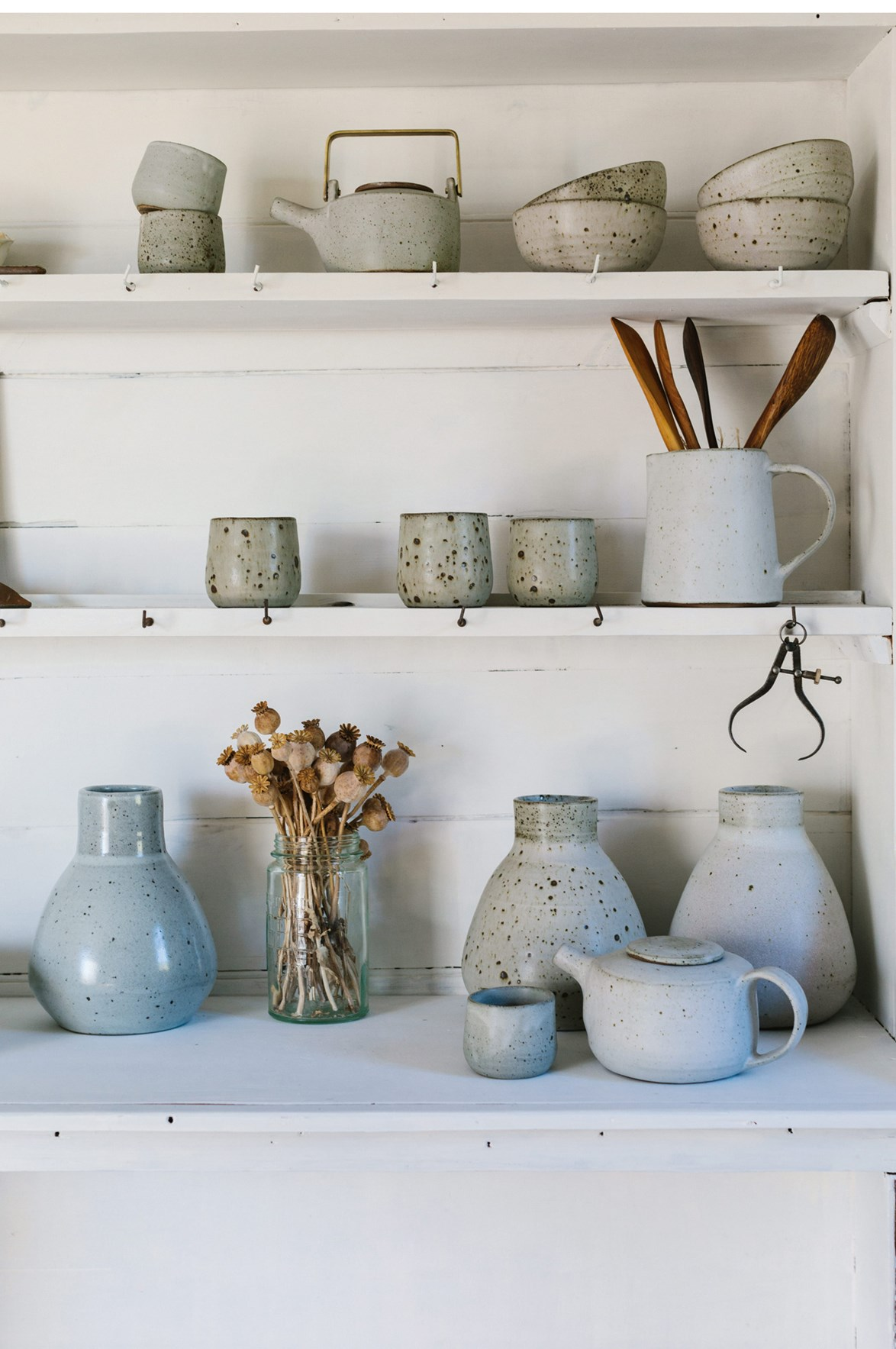 "**Otti Made** <br><br> In the heart of the Barossa Valley at Tanunda, Ilona Glastonbury [makes eco-friendly pottery](https://www.homestolove.com.au/eco-friendly-pottery-14027|target=""_blank"")using materials sourced around her cosy cottage. Named the 'lovacore' tradition, Ilona's practice seeks to minimise her impact on the environment, all while producing beautifully tactile spoons, bowls, dishes and plates for her small business. [ottimade.com.au](https://www.ottimade.com.au/