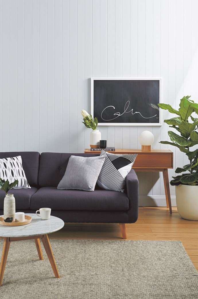 "5\. Calm & relaxed. A touch of grey works best when creating a chill-out zone says Melanie Stevenson, marketing manager of [Porter's Paints](https://www.porterspaints.com/), who suggests half- and quarter-strength versions of soft greys, blues and whites. ""A calm atmosphere can be created with soothing tones of grey — choose greys with a cool blue or green undertone — soft neutral greens, grey-blues, mauve-greys and misty white,"" she says. ""If your preference is for warm colours, the most relaxing are soft tans and 'dirty' light pinks. Opt for muted, complex colours rather than sharp or crisp options."" TRY: Porter's Paints eggshell acrylic paint in [Mist](https://shop.porterspaints.com/products/mist) $101.07 for 4L, and [Newport Blue](https://shop.porterspaints.com/products/newport-blue), $101.07 for 4L. 