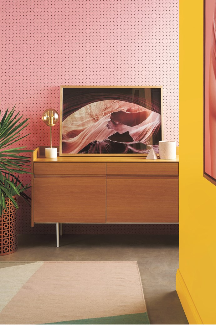 "1\. Fun & vibrant. [Taubmans](http://www.taubmans.com.au/homeowners) colour expert Fiona King admits that while yellows, oranges and pinks generally add a sense of cheerfulness, they can be polarising, sometimes making people feel tense and irritated. ""Use them sparingly and test a small area with a Taubmans sample pot first, making sure you show everyone who has to live in the space!"" says Fiona. She recommends a sunny yellow, such as Taubmans Florida as a cheerful, warming influence, or In The Pink or Orange Embers for those considering a more daring aesthetic. TRY: Endure Interior low-sheen paint in [Enterprising](http://www.taubmans.com.au/colourcentre/colour-details/64436/enterprising), $100.46 for 4L, and [Berry Beige](http://www.taubmans.com.au/colourcentre/colour-details/65760/berry-beige), $80.55 for 4L, both from [Taubmans](http://www.taubmans.com.au/homeowners). 