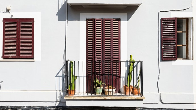 For those with tiny apartments, a balcony is excellent real estate to develop an urban garden. Line up your finest cacti and succulents to enjoy the sun. Image courtesy of [Anders Nord](http://www.andersnord.com/)