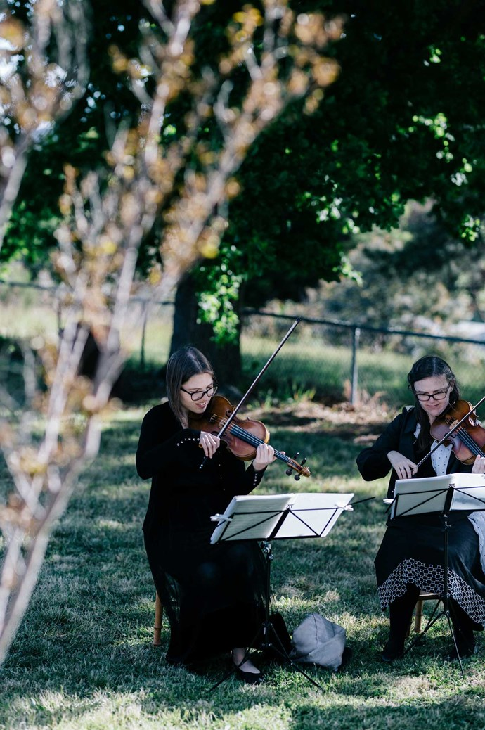Live music adds to the feel of a relaxed and stylish outdoor soiree.   Photo: Marnie Hawson