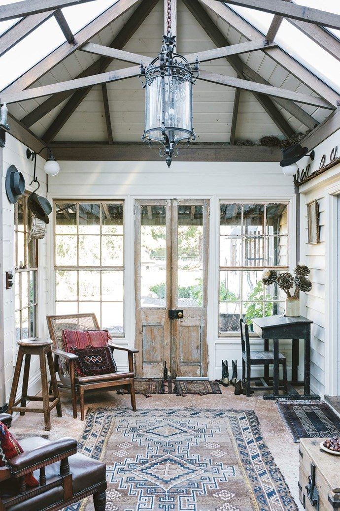 """[**Ewing Farm, VIC**](https://www.homestolove.com.au/a-central-victorian-farmhouse-filled-with-colour-and-history-13852