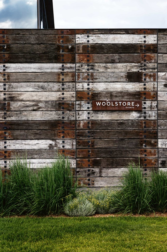 The Woolstore events space caters for up to 160 guests.