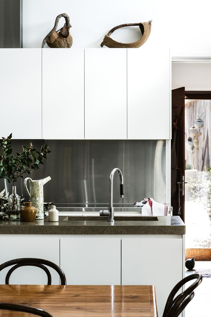 "The kitchen features a Teknobili tap from [Reece](https://www.reece.com.au/|target=""_blank""