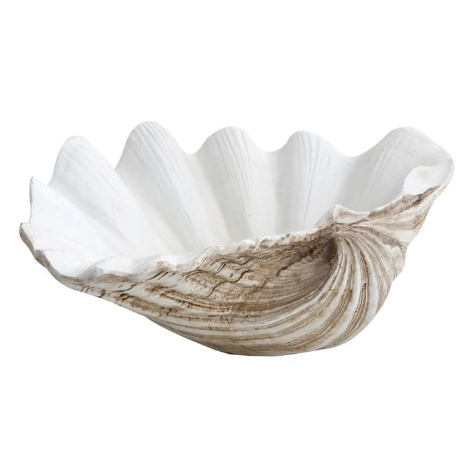 10\. Medium clam ornament $39.95, from [Alfresco Emporium](https://www.alfrescoemporium.com.au/)