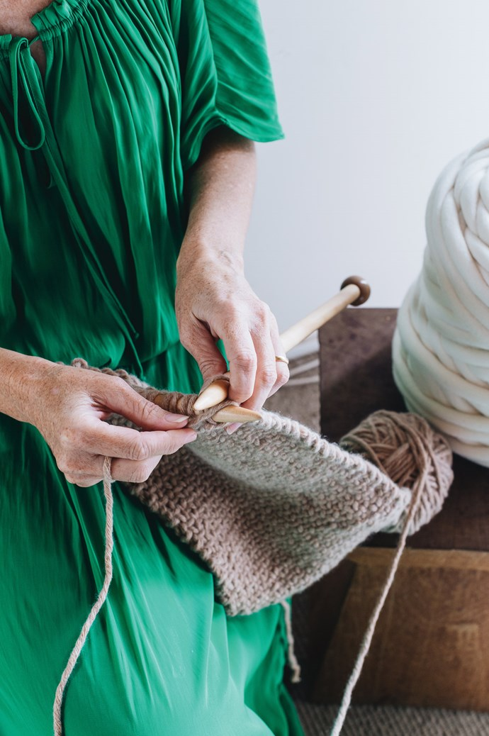 "Jacqui works her magic with the knitting needles. She says her best style advice is, ""Play to your strengths.  Buy less, buy better."" Click through for 10 of her top fashion and style picks.  