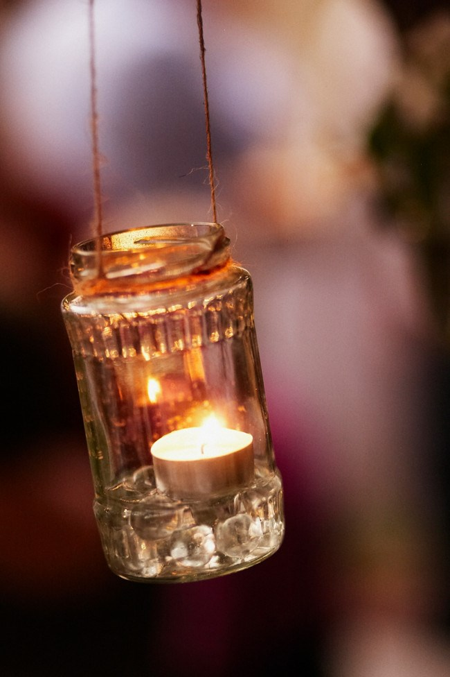 **Light the way** Pop tea [lights](http://www.homelife.com.au/decorating/outdoor/how+to+make+a+lantern,3798) in clear jars and string them up with twine for a simple and effective way to create a warm glow. Plus, they won't blow out if it gets windy!     _Photo courtesy of [Rob Johnson Photography](http://robjohnsonphotography.com/)_