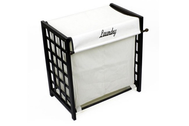 Choc Double Laundry Hamper, $54.95, from [Howards Storage World](http://www.hsw.com.au/?product&id_prod=1676&id_cat=&id_dept=#.WMssZXSGNL4). Separating your whites from your darks or your linen from your clothes is a breeze with this double lattice Laundry Hamper.
