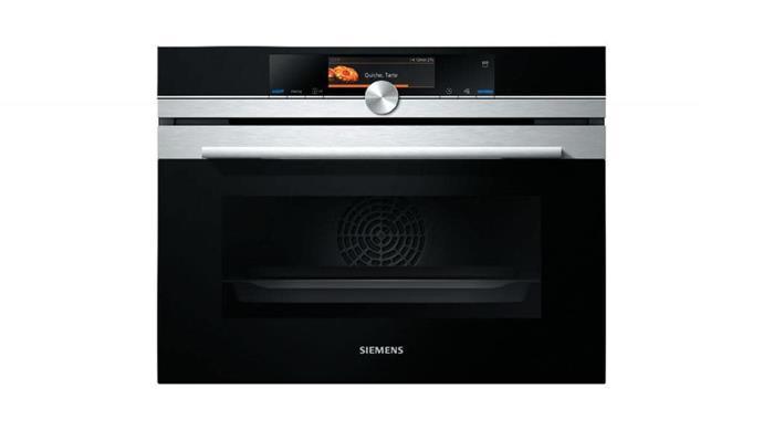 Steam oven: iQ700 CS658GRS1B' 60cm oven, $4499, [Siemens](http://siemens-home.com)