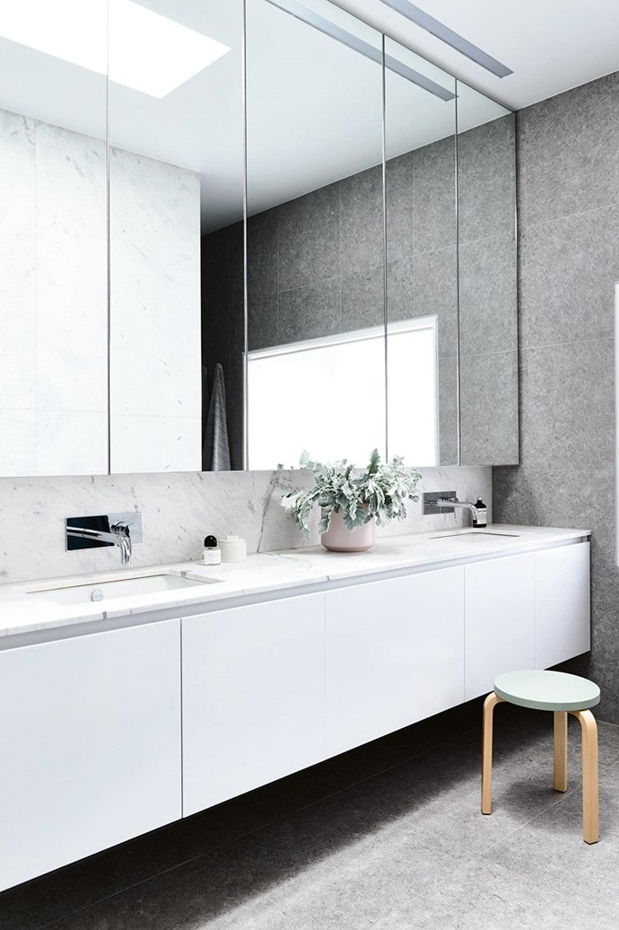 """Despite its [monochromatic colour scheme](https://www.homestolove.com.au/monochrome-bathrooms-6390