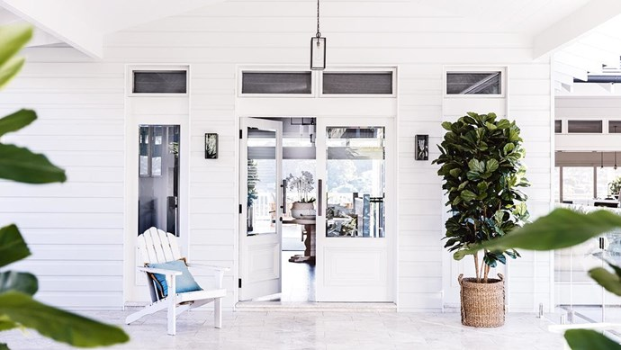 "Panelling, moulding, an open truss here and there – the detail possibilities are endless with this modern take on Hamptons style. Try cladding like [Scyon Linea](https://www.scyon.com.au|target=""_blank""