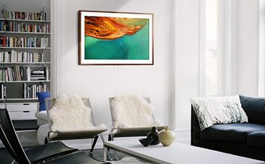The Frame: Samsung's new TV looks like art hanging on your wall