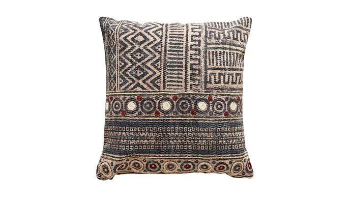 'Priti' cushion, $125, [Barefoot Gypsy](https://barefootgypsy.com.au/).