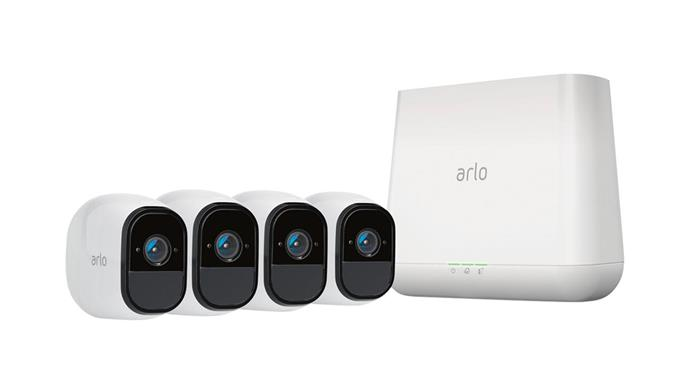 "**Arlo Pro' smart security system** With four weatherproof, wireless, HD cameras with two-way audio, free cloud storage and night vision, this system is a complete package. But ensure your wi-fi network is rock-solid first. $1199, [Netgear](http://arlo.com/au/|target=""_blank"")."