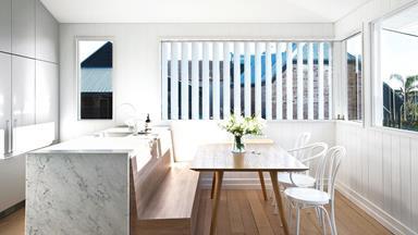 This restored Brisbane worker's cottage received a modern reinvention
