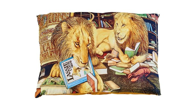 Create a cosy spot with a giant floor cushion – just add a soft blanket for the perfect nap zone. Animalia X Kip&Co 'Lion Library' floor cushion, $129, [Kip&Co](https://kipandco.com.au/). _Photography by Craig Wall and Styling by Jono Fleming with assistance from Chrix Xi, Kayleen Thomas and Sandra Arena._