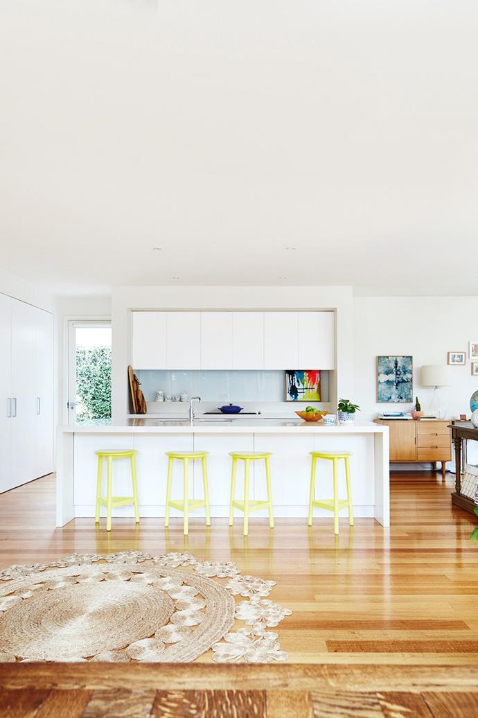 """This [bold and beautiful home](https://www.homestolove.com.au/the-bold-and-the-beautiful-melbourne-home-makeover-17119