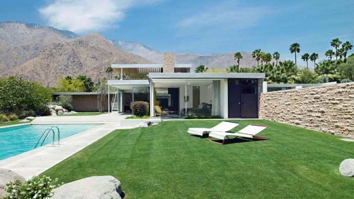 Design smarts The Kaufmann house by Richard Neutra is a design classic. The California house was designed as a winter retreat, taking full advantage of the Palm Springs sunshine. Tip: Allow the natural environment to inform considerations on pool temperature, including shade and heating Photographer: Richard Powers