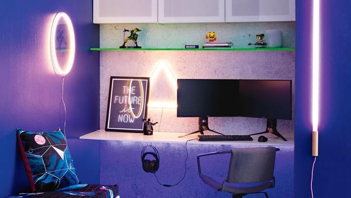 Inside Out | June 2018 | Gamer Kid's Bedroom Photographer: Sam McAdam-Cooper, Stylist: Jono Fleming
