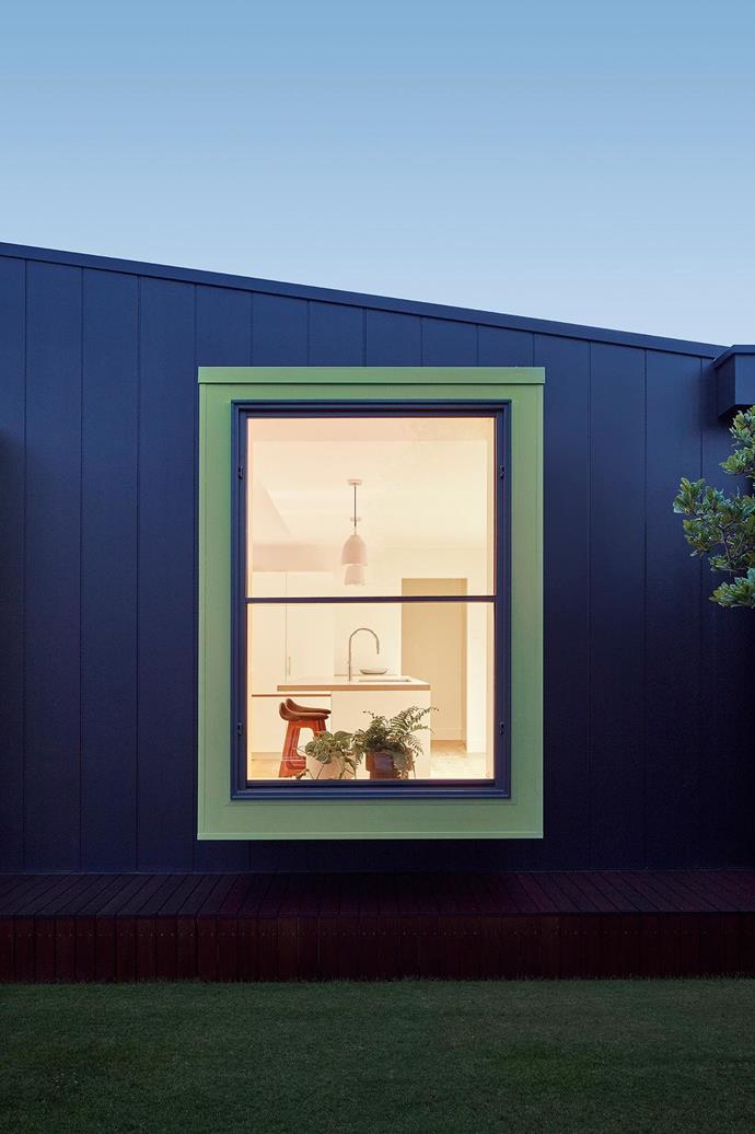 The couple made it clear that they did not want a simple 'box' tacked onto the rear, but something a little left of field (or, out of the box, dare we say?). Sequestered away from a busy neighbourhood front, the bungalow's newest addition is perfectly suited to its owners' pursuit of retiree life.  Project by [Architect Hewson](https://www.architecthewson.com/), Photography by [Jack Lovel](http://www.jacklovel.com/).