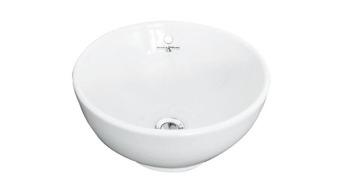 "Perrin & Rowe table-mounted china vanity bowl with overflow, $795, [The English Tapware Company](http://englishtapware.com.au|target=""_blank""