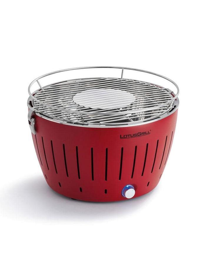 Lotus Grill original barbecue, $199.95, [Zimba](http://zimba.com.au)
