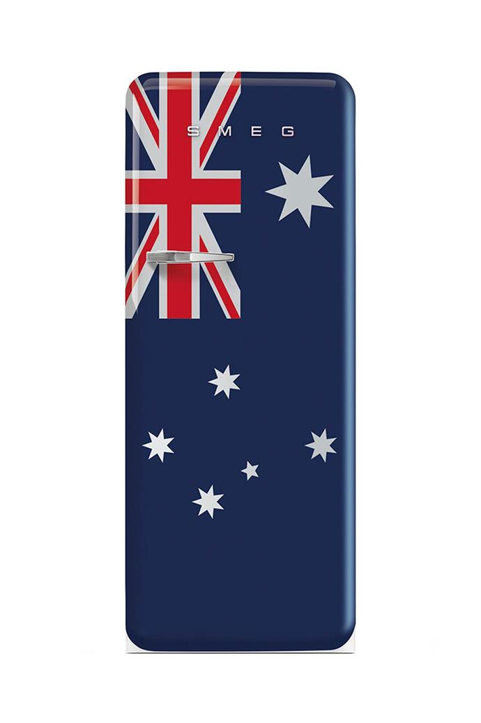 **Australian FAB** What list of great Smeg fridge designs would be complete without including their beautiful country flags collection? Here, the classic fridge sports the Australian flag. [Visit Smeg](http://www.smeg.com.au/).