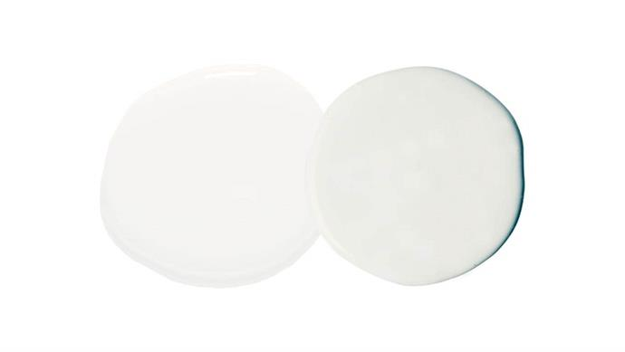 "**Paints** Haymes Paint Worn White, [Haymes Paint](http://www.haymespaint.com.au/|target=""_blank""|rel=""nofollow""). Dulux Vivid White, [Dulux](https://www.dulux.com.au/|target=""_blank""|rel=""nofollow"")."