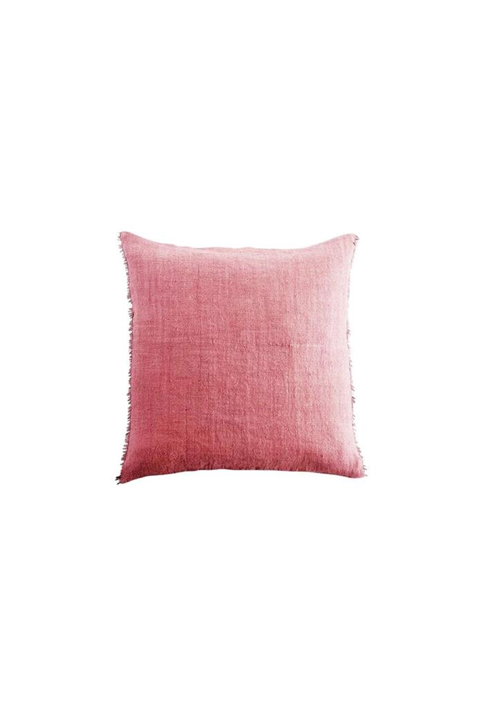 The natural-linen look of this cushion gives it a time-worn feel. Tine K Home cushion cover, $145, [This... Design & Living](http://www.this.com.au/)