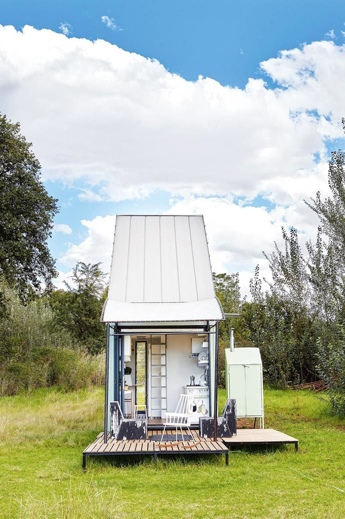 [Read the full story here](http://www.insideout.com.au/renovations/house/little-beauty-this-eclectic-home-takes-up-just-17-square-metres/news-story/f501fa9a8bf23f2e22921d1acc61e2f1). _Photography by Greg Cox_ Photographer: Greg Cox
