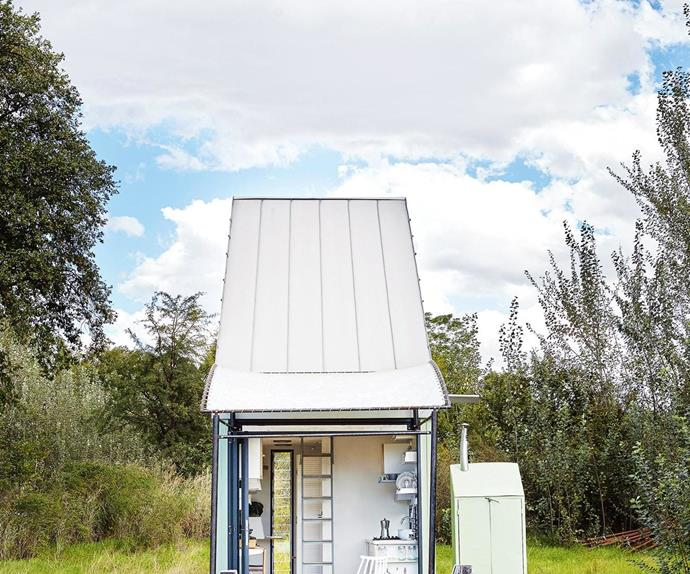 """This 17-square-metre home in South Africa isn't just about minimalism or economical living – it's also about the sheer joy of small, functional spaces. Scroll through to take the grande tour...  <i>Photography by Greg Cox. Produced by Sven Alberding and <a href=""""http://www.bureaux.co.za/"""" target=""""_blank"""">Bureaux<i>.</i></a></i>"""