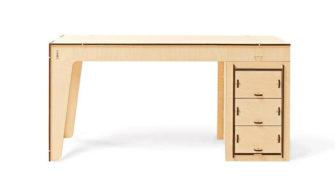 "Quality craftsmanship meets simple functionality. Totem Italia 'Studio' desk, $1345, [Plyroom](https://www.plyroom.com.au/|target=""_blank""|rel=""nofollow"")."
