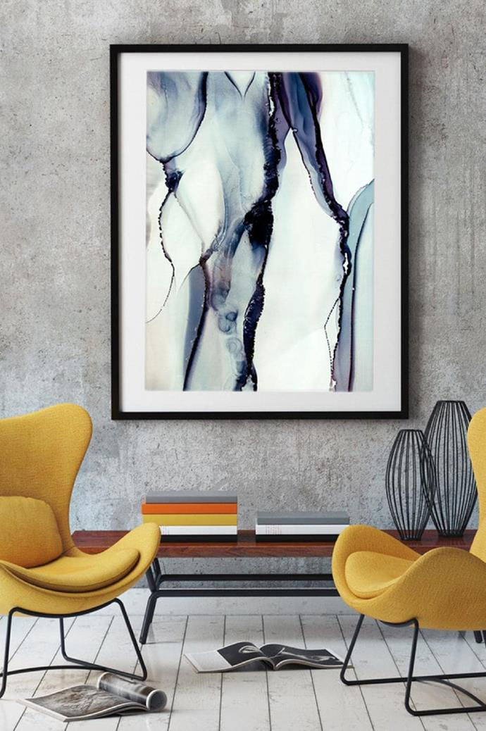 """**Celesta Wrona**  With [artwork that's been featured on The Block](https://www.homestolove.com.au/the-block-2018-hallway-reveals-where-to-buy-the-artworks-19051
