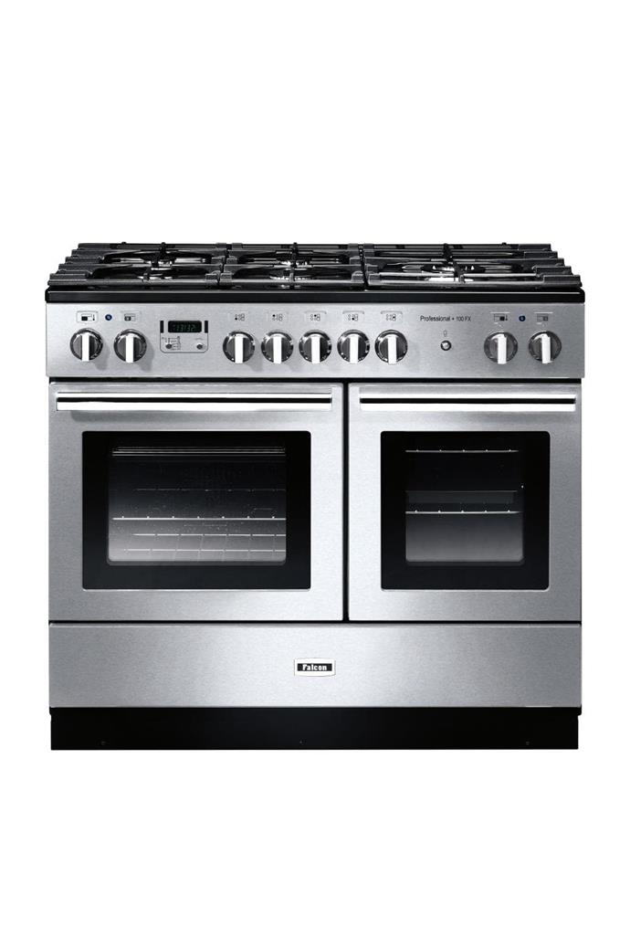 Double oven: Falcon 'PROP100FXDFSS-CH' 94cm dual-fuel oven/stove, $6499, [Andi-Co](http://andico.com.au)