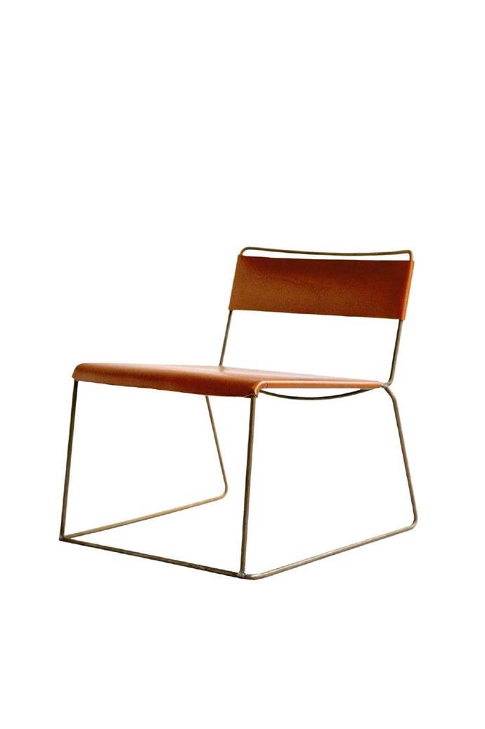 Uccio low chair, $955, [Daniel Barbera](http://barberadesign.com/).