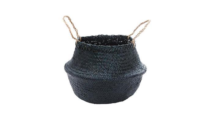 Belly basket in Black, $29, [Olli Ella](https://au.olliella.com/).